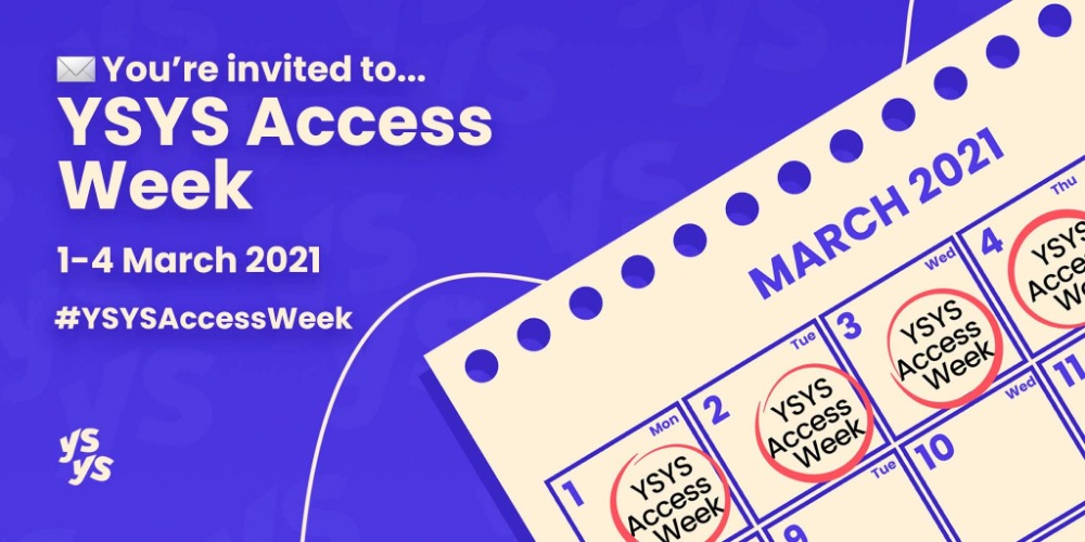 #YSYSAccessWeek: Building a diverse, inclusive and accessible tech startup ecosystem