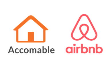 Accomable and Airbnb