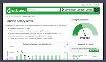 Job search engine Adzuna raise £8m in series C round