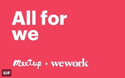 Meetup to become part of WeWork