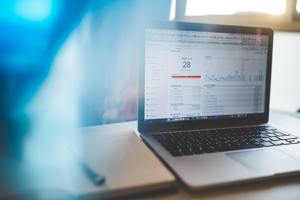 digital marketing tips for startups - analytics