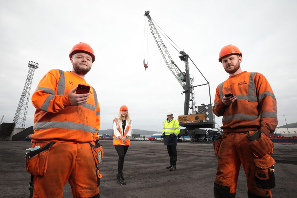 £75k proof of concept Techstart Ventures Belfast Harbour