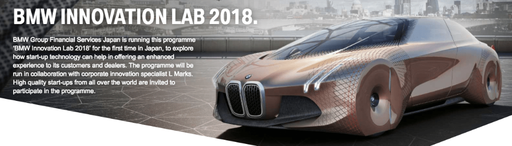 BMW Innovation Lab 2018