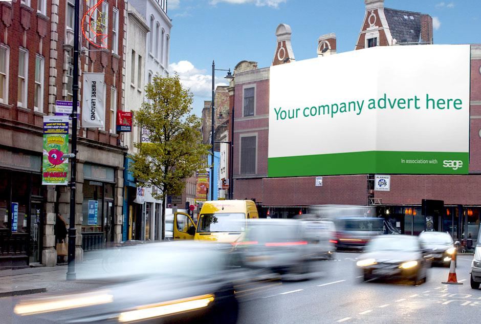 Bag yourself a billboard competition