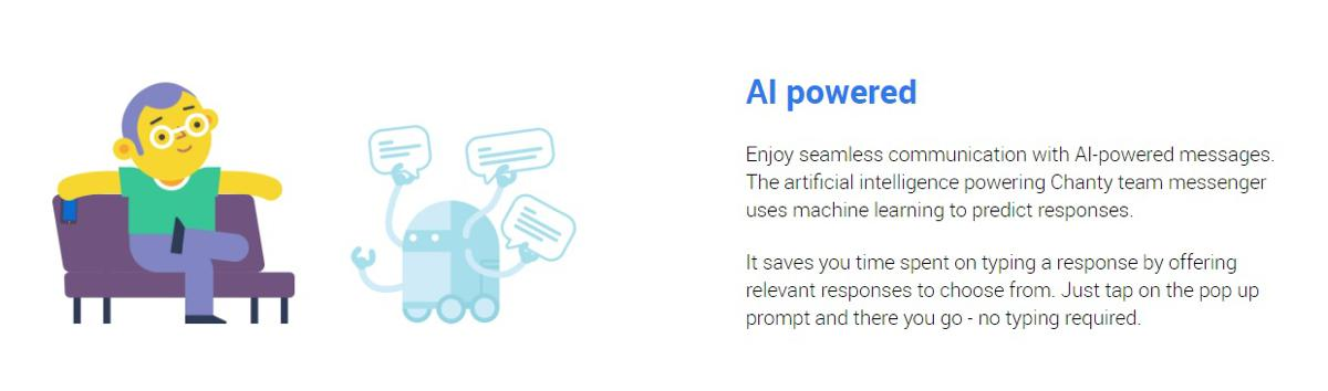 AI powered business messenger