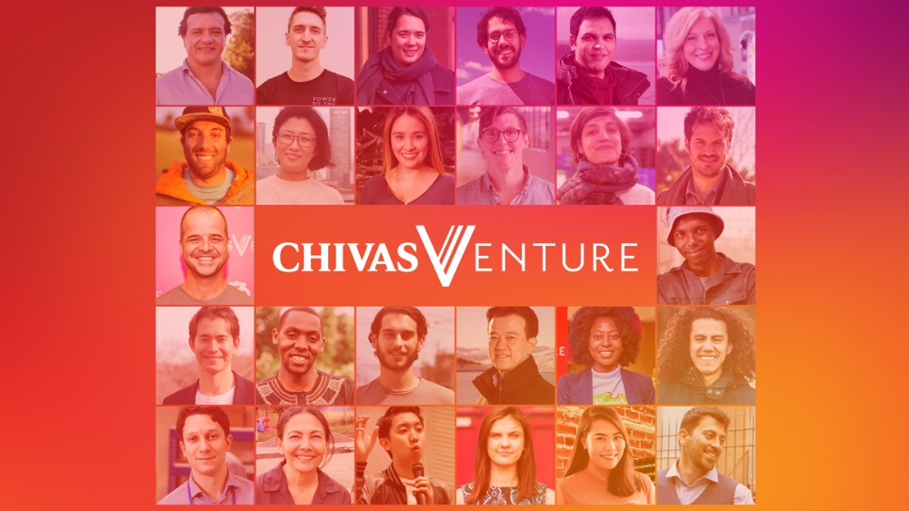 Chivas Venture divides this year's $1m Venture Fund between 26 global Startups