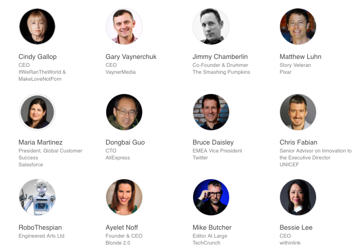 Dublin Tech Summit Keynote speakers
