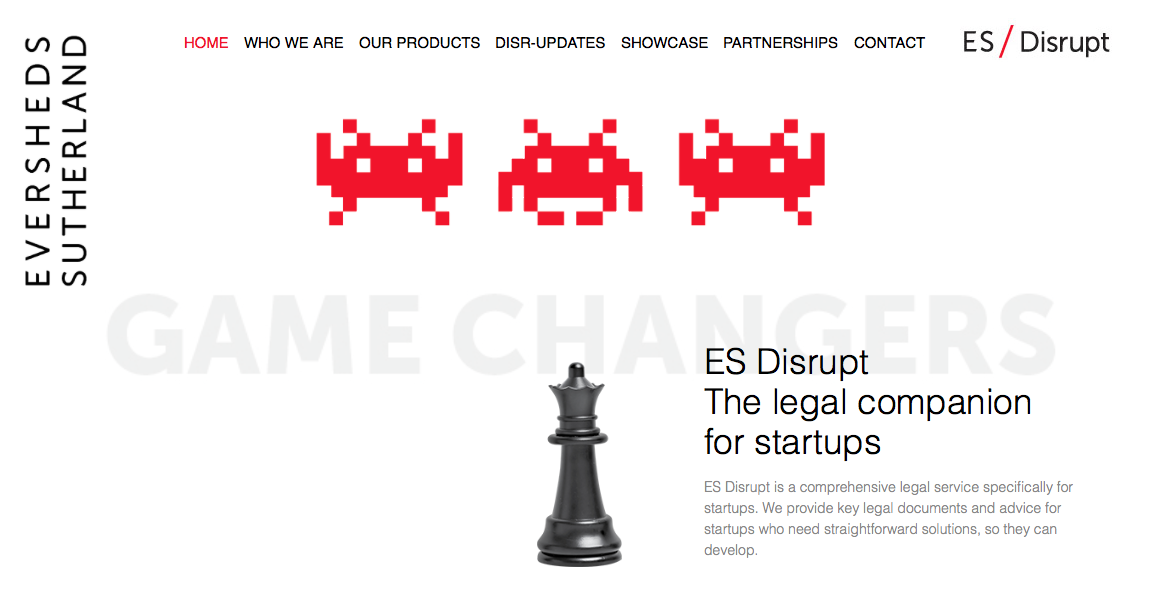 Eversheds Sutherland Launches Legal Startup Service ES Disrupt