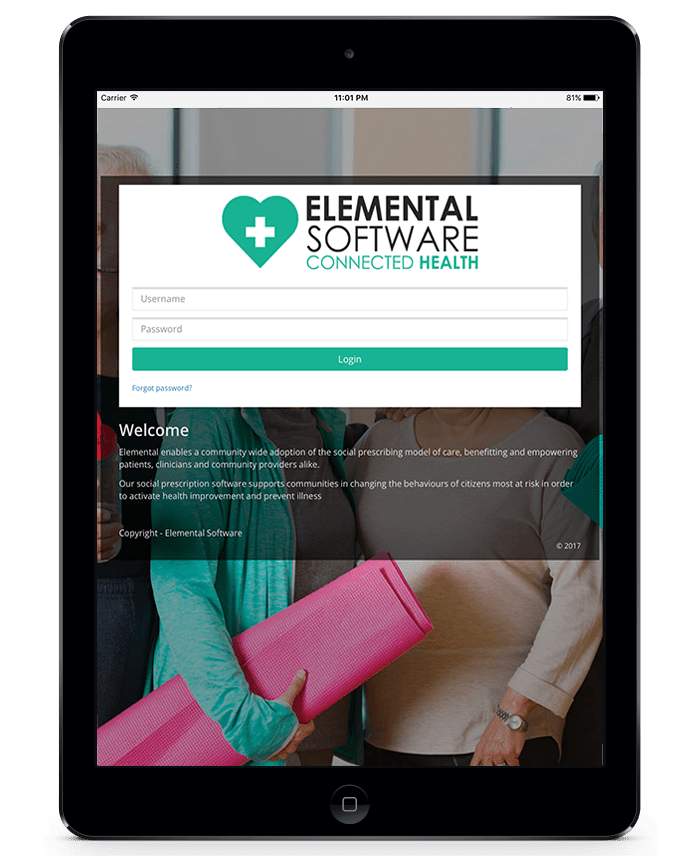 Elemental Software social prescribing