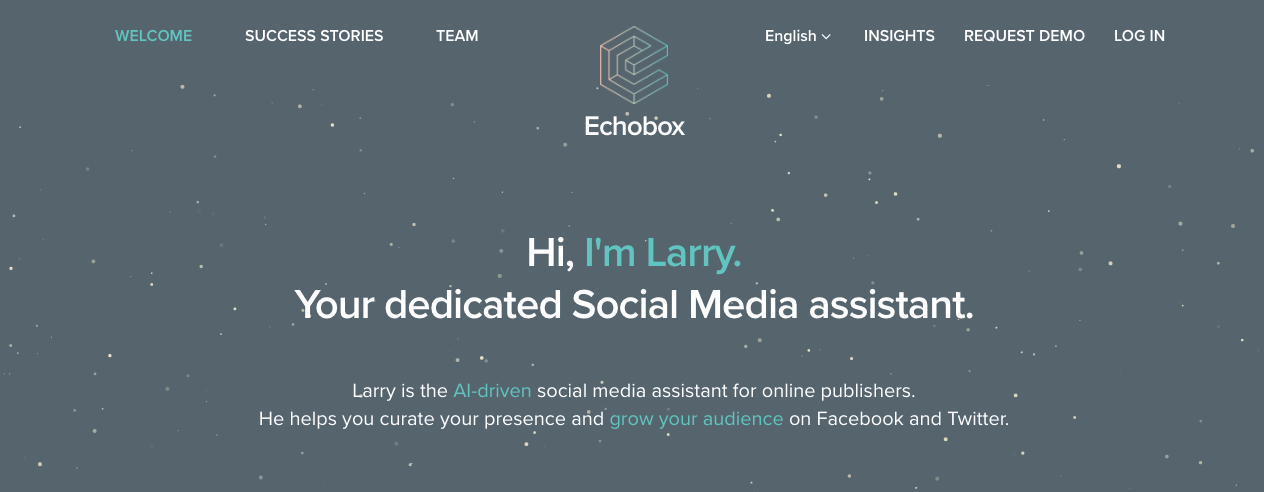 Echobox wants to be your dedicated, AI Social Media assistant and Poll Tracker