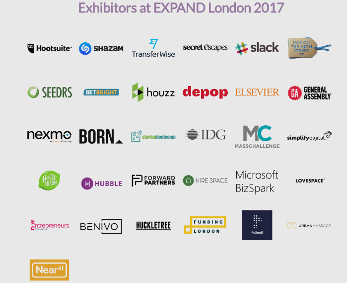 EXPAND London exhibitors