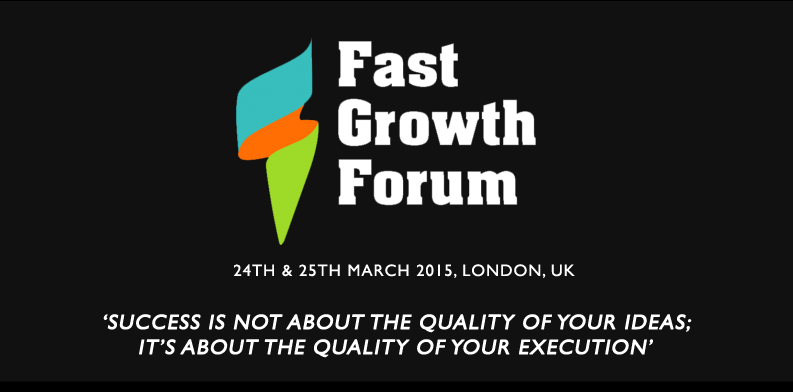 Win a ticket to fast growth forum