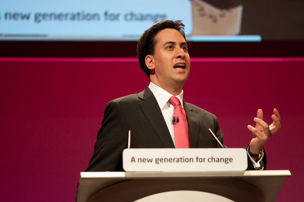 Ed Miliband - Talking at a Conference