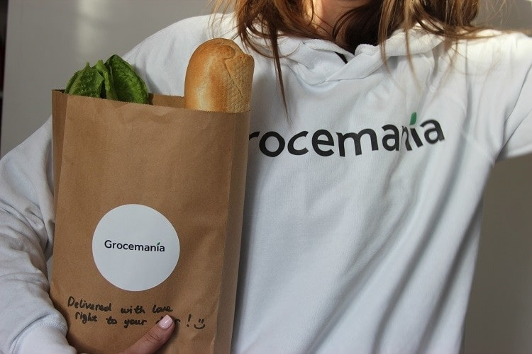 Grocemania delivers groceries from local store to door