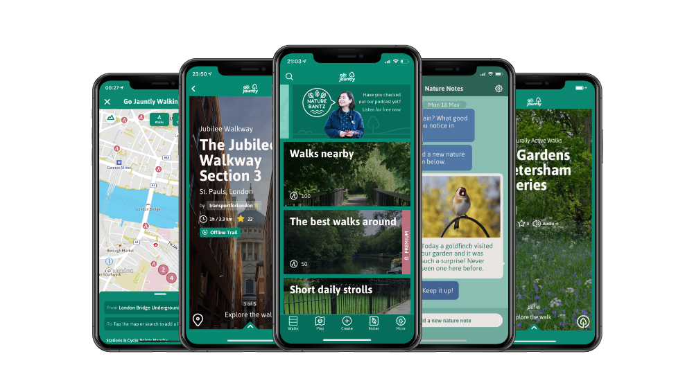 Nature diary app launched to boost mental health
