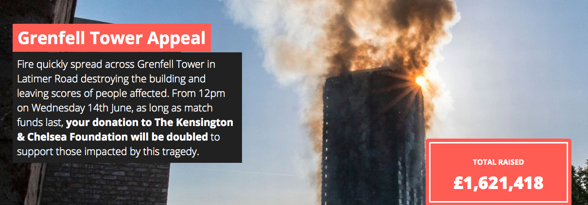Grenfell Tower appeal