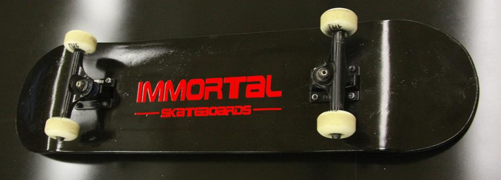 An Immortal Skateboard