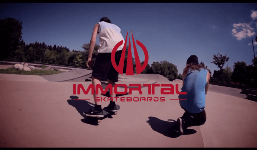 Immortal Skateboards indiegogo Campaign