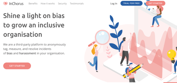 InChorus helps address workplace bias and harassment