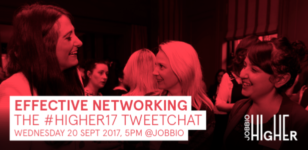Jobbio HIGHER Twitter chat