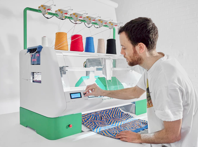 Kniterate - digital knitting machine