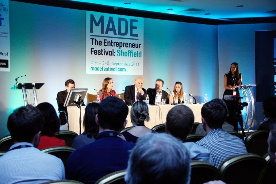 Panel at the MADE Festival