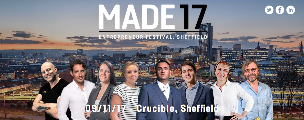 Win a ticket to MADE Entrepreneur Festival 2017