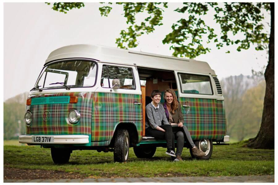 how to find campervans on airbnb scotland