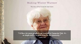 #WinterWarmer Casserole Club
