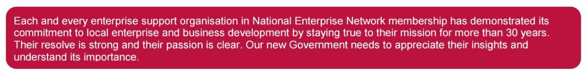 National Enterprise Network Manifesto
