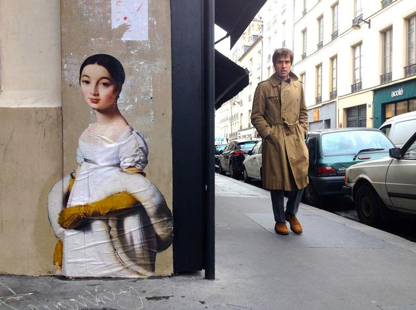Gallery Paintings Take to the Streets
