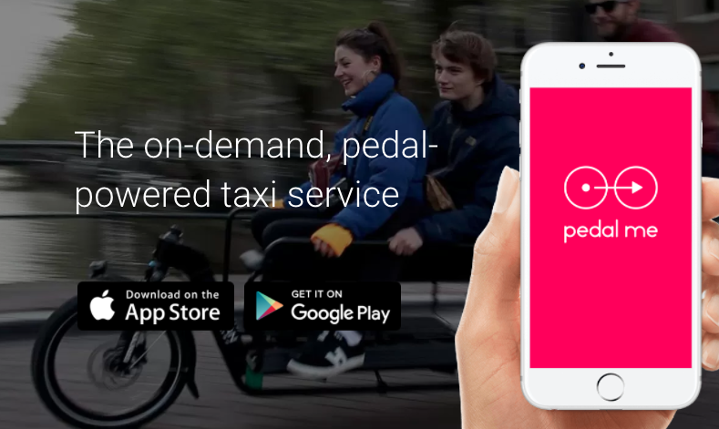 Pedal Me pushes forward with its on-demand taxi service powered by bike