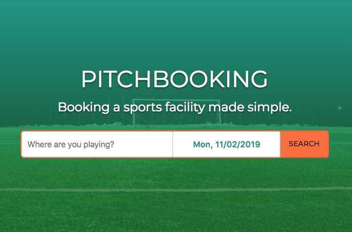 Sports facility management platform Pitchbooking nets £250k investment