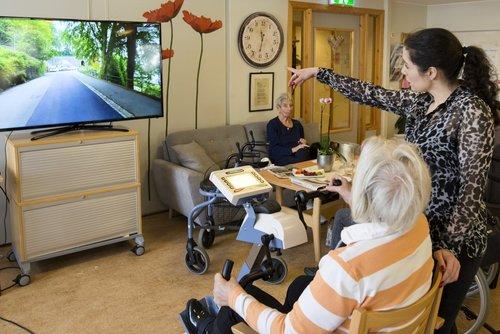 Motitech - fitness technology for older people