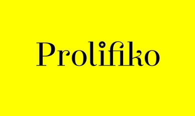 Prolifiko - the pocket writing coach