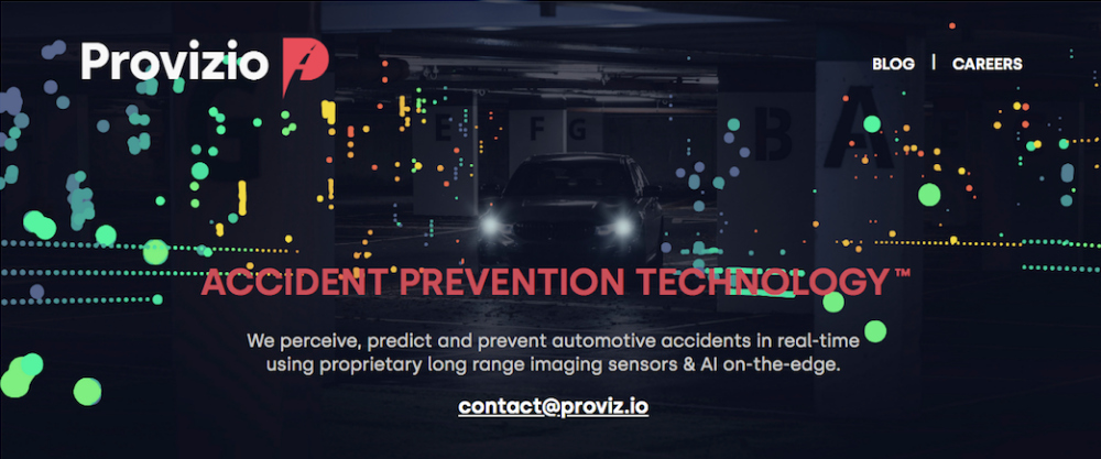 Provizio - the startup using AI to reduce road accidents