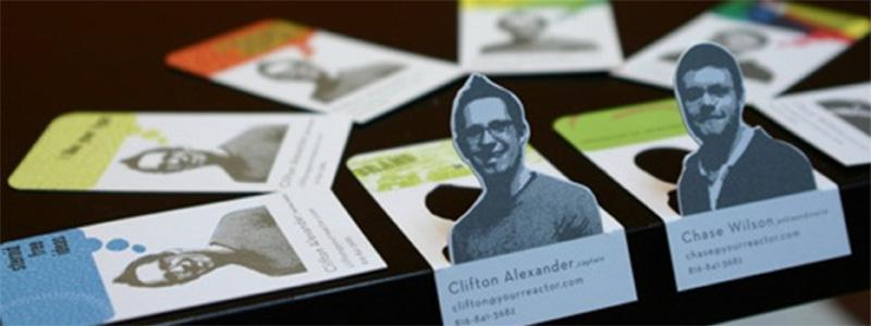 quirky business cards