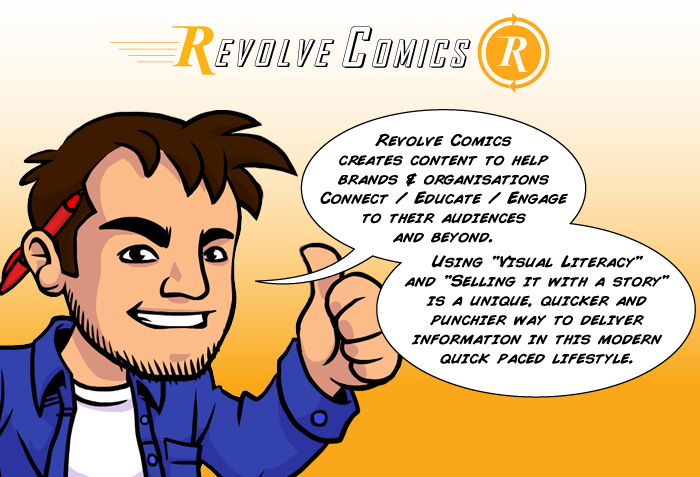 Marketing and Graphic Novels - our chat with Danny from Revolve Comics.