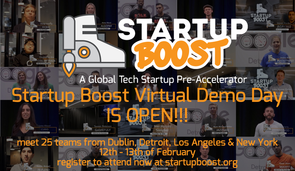 Virtual Demo Day by Startup Boost to run for 48 hours
