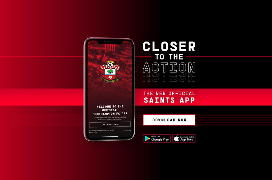 Southampton F.C. Launches New 'Saints' App Utilising Realife Tech's Mobile Fan Solutions