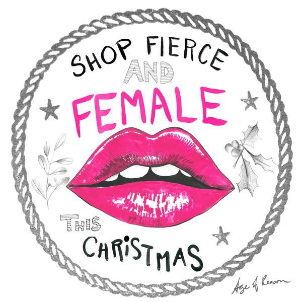 Shop Fierce and Female campaign
