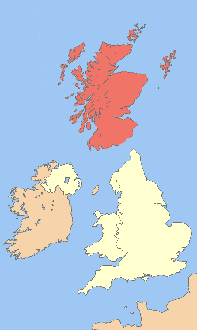 Scotland if it leaves the Union?