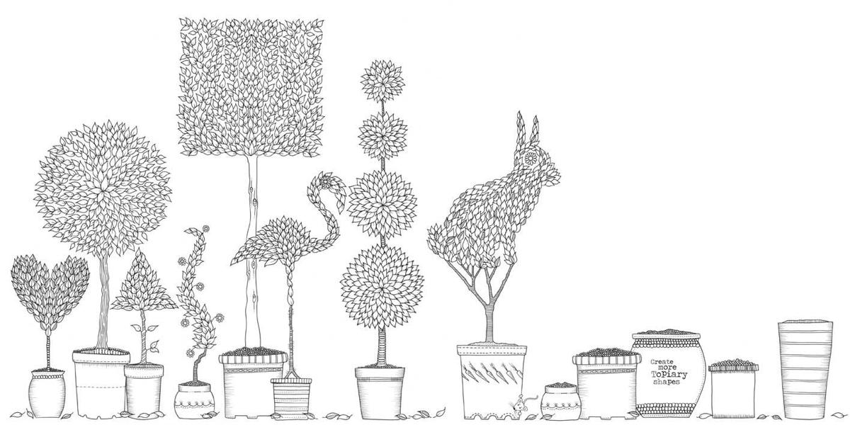 The secret garden coloring book target - Check Out Some Of Johanna S Work Below And Follow Her On Twitter For Some More
