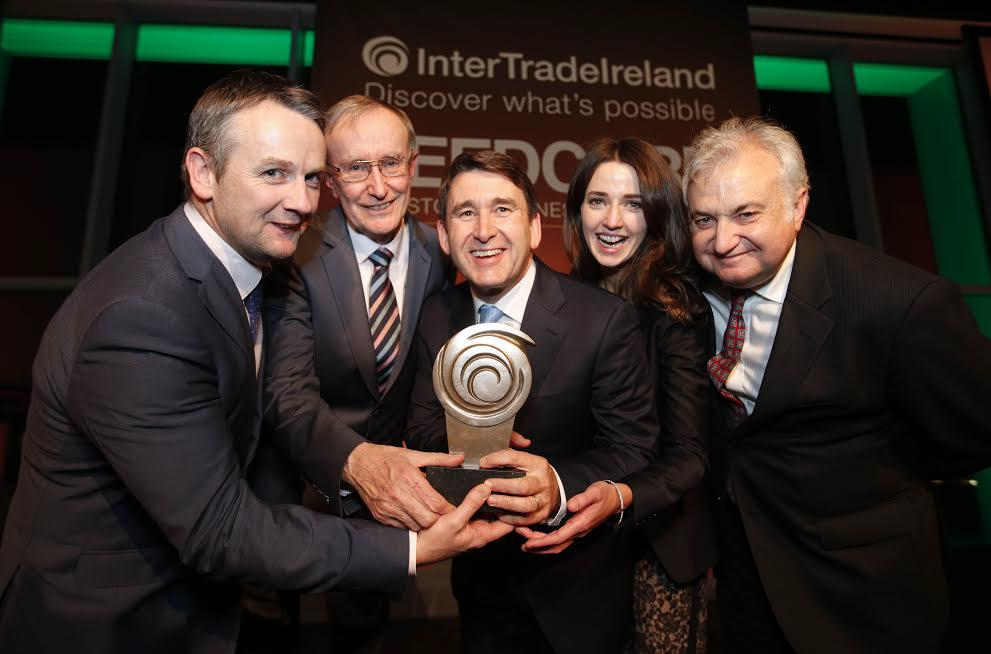 Winners of InterTrade Ireland Seedcorn Competition 2016