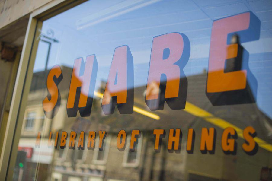 Share Shop- A Library of things