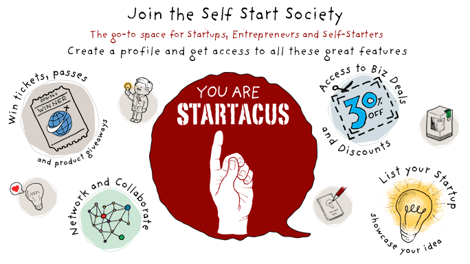 Become a member of the Startacus Community