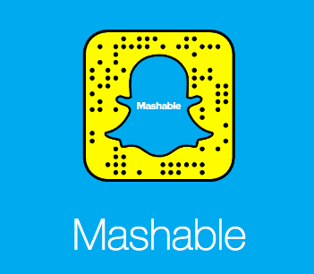 Snapchat Discover Mashable