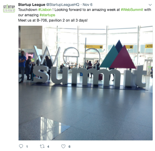 web summit 2017 The Startup League