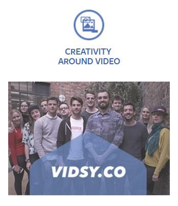 Vidsy Facebook Innovation Spotlight Award