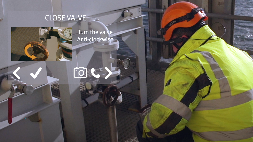 augmented reality for industrial sector